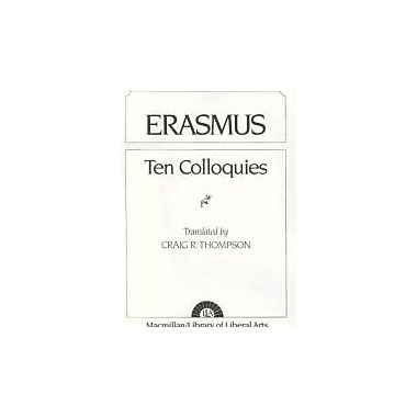 Erasmus: Ten Colloquies, Used Book (9780024206206)