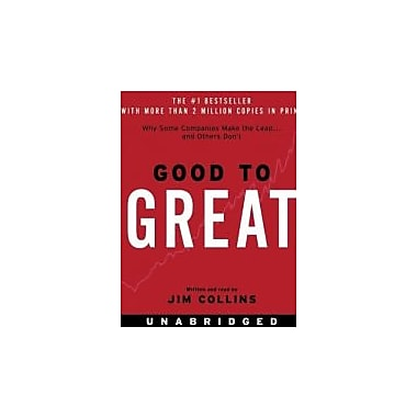 Good to Great CD: Why Some Companies Make the Leap...And Others Don't, Used Book (9780060794415)