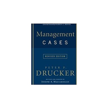 Management Cases, Revised Edition, New Book (9780061435157)