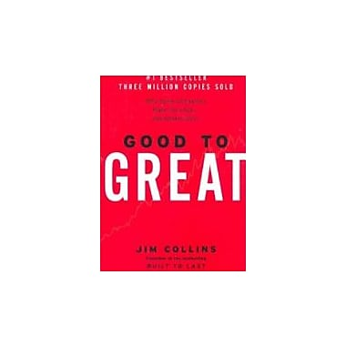 Good to Great: Why Some Companies Make the Leap...And Others Don't, New Book (9780066620992)