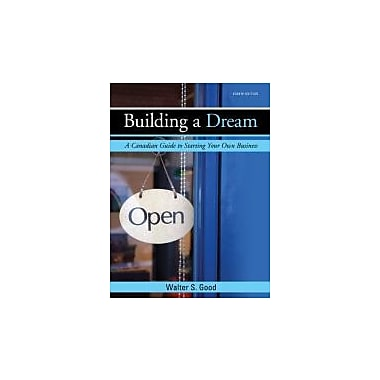 Building a Dream, Eighth CDN Edition, New Book (9780070000193)