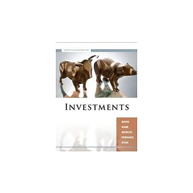 Investments, Canadian Edition, New Book (9780070071704)