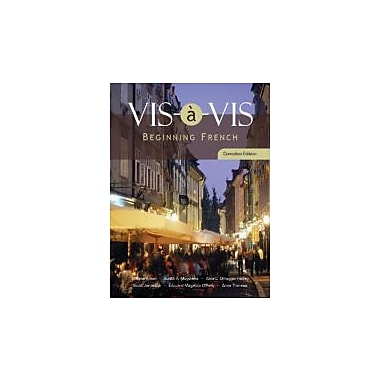 Vis-a-vis: Beginning French, New Book (9780070726086)