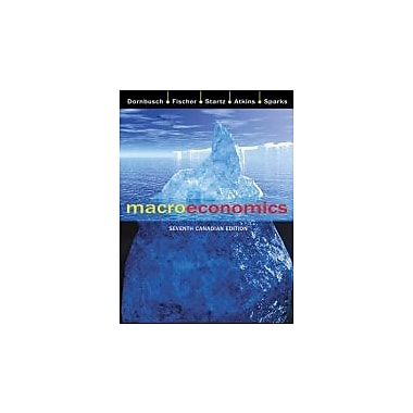 Macroeconomics, 7th Canadian Edition, New Book (9780070916166)