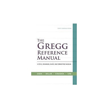 The Gregg Reference Manual + CONNECT w/eText, New Book (9780070919310)