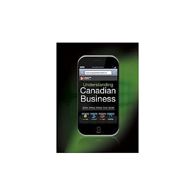 Understanding Canadian Business, 7th Cdn Edition w/ Connect Access Card, New Book (9780070919884)