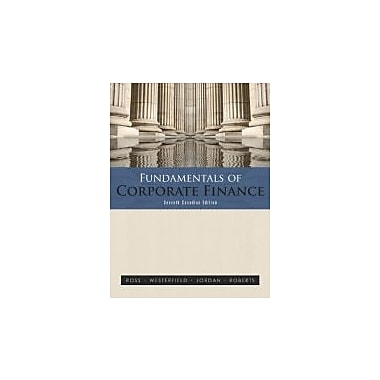 Fundamentals of Corporate Finance, Seventh Cdn Edition w/ Connect Access Card, New Book (9780070919891)