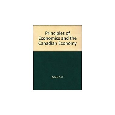 Principles of Economics and the Canadian Economy, Used Book (9780070923515)