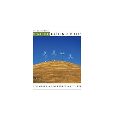 Macroeconomics, New Book (9780070946439)