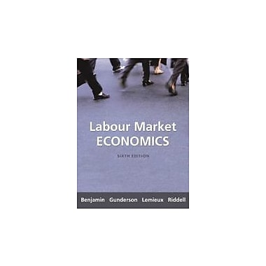 Labour Market Economics, New Book (9780070949225)