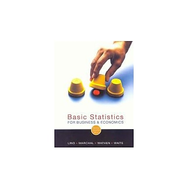 Basic Statistics for Business and Economics, Used Book (9780070951648)