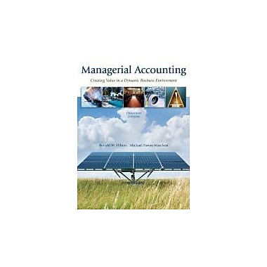 Managerial Accounting, CDN Edition, New Book (9780070968240)