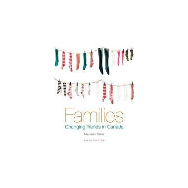 Families: Changing Trends in Canada, Used Book (9780070968868)