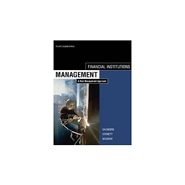 Financial Institutions Management, 4th Cdn Edition, New Book (9780070979796)
