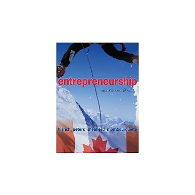 Entrepreneurship, Second CDN Edition, Used Book (9780070979840)