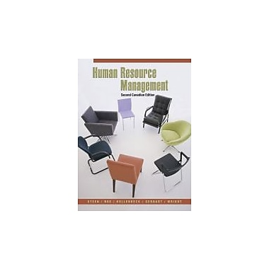 Human Resource Management, Second CDN Edition, Used Book (9780070979864)