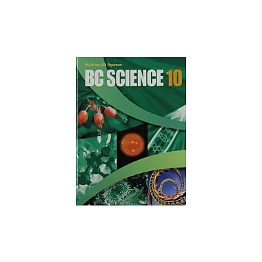 BC Science 10, New Book (9780070984653)