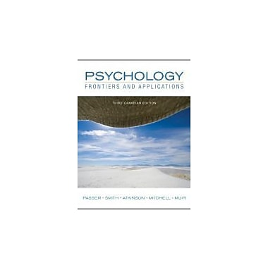 Psychology: Frontiers and Applications, Third CDN Edition, Used Book (9780070985926)