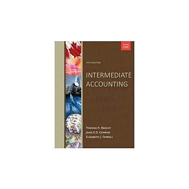 Intermediate Accounting, with Connect Access Card: Volume 1, New Book (9780071091251)