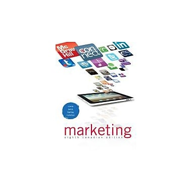 Marketing with Connect Access Card, 8th Canadian Edition, Used Book (9780071091398)