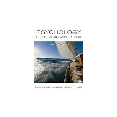 Psychology: Frontiers and Applications + Connect w/eText, New Book (9780071091442)