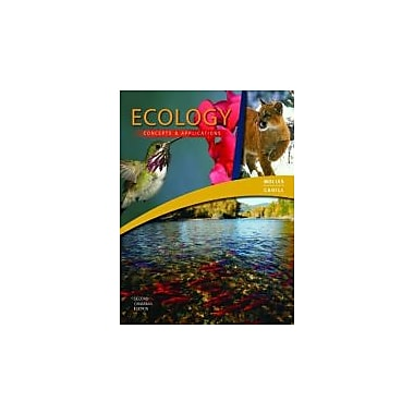 Ecology: Concepts and Applications with Connect + Etext, Second Canadian Edition, Used Book (9780071093323)