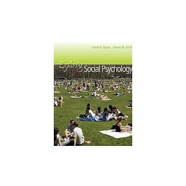 Exploring Social Psychology + CONNECT w/eText [Paperback] by Myers, David, New Book (9780071319171)