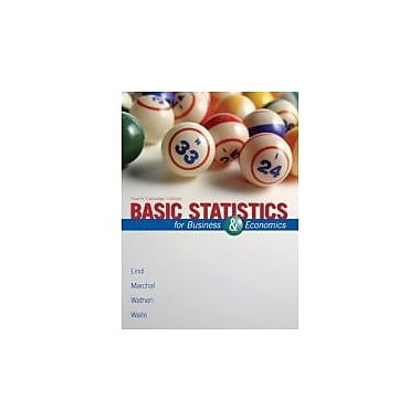 Basic Statistics for Business & Economics with Connect Card [Paperback], Used Book (9780071320511)