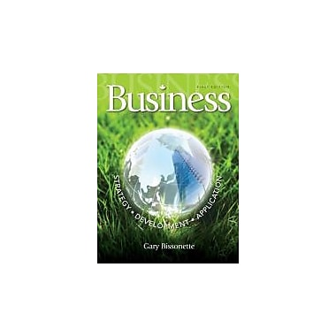 Business: Strategy, Development, Application Cdn Edition with Connect Access Card, New Book (9780071320580)