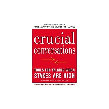 Crucial Conversations Tools for Talking When Stakes Are High, Second Edition, New Book (9780071771320)