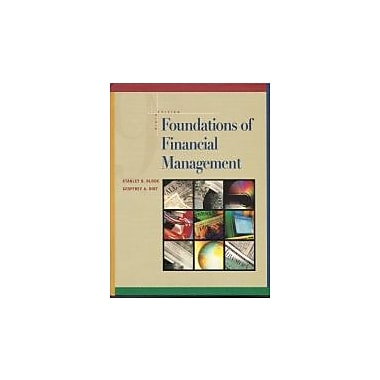 Foundations of Financial Management, Used Book (9780072283365)