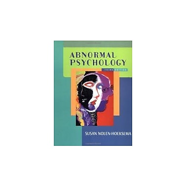 Abnormal Psychology, New Book (9780072562460)