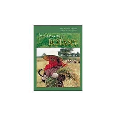 Economic Botany: Plants in our World, New Book (9780072909388)