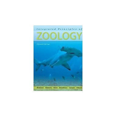 Integrated Principles of Zoology, New Book (9780073040509)