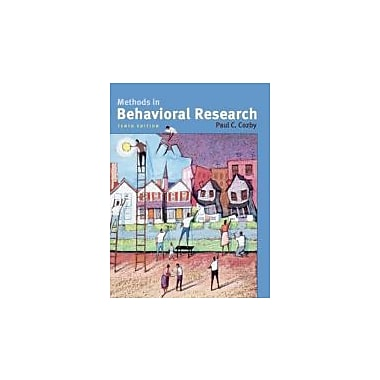 Methods in Behavioral Research, New Book (9780073370224)