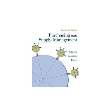 Purchasing and Supply Management, Used Book (9780073377896)