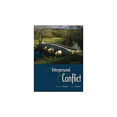 Interpersonal Conflict, New Book (9780073385136)