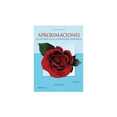 Aproximaciones al estudio de la literatura hispanica (9780073385372)