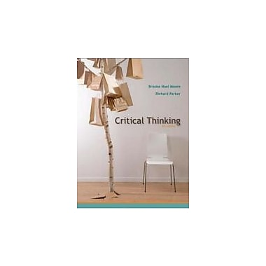 Critical Thinking, Ninth Edition, New Book (9780073386676)