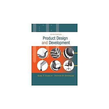 Product Design and Development, New Book (9780073404776)