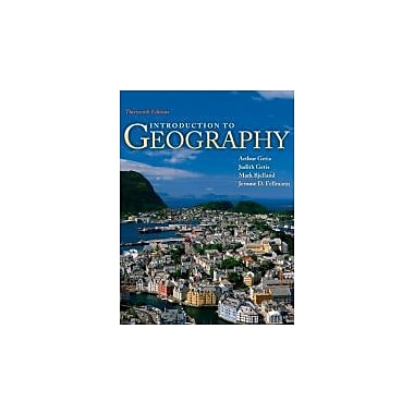 Package: Introduction to Geography with Connect Plus Access Card