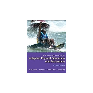 Principles and Methods of Adapted Physical Education and Recreation, New Book (9780073523712)