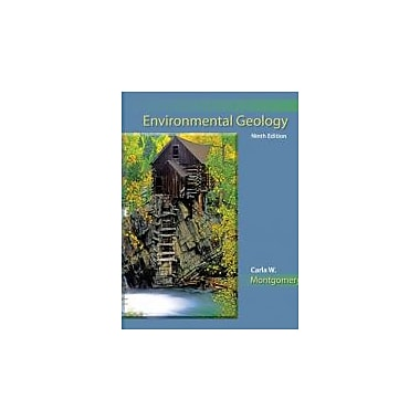 Environmental Geology, New Book (9780073524085)