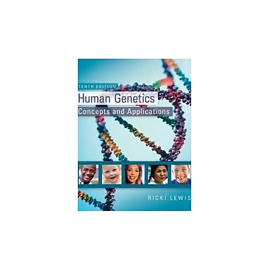 Human Genetics, New Book (9780073525303)