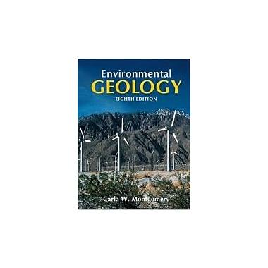 Environmental Geology, New Book (9780077216054)