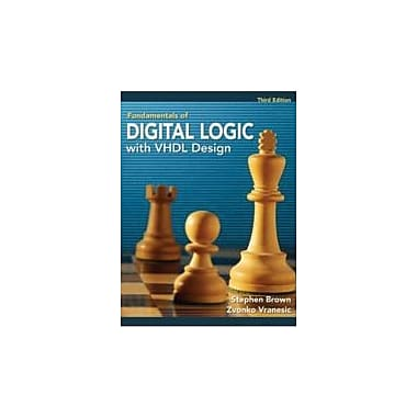 Fundamentals of Digital Logic with VHDL Design with CD-ROM, New Book (9780077221430)