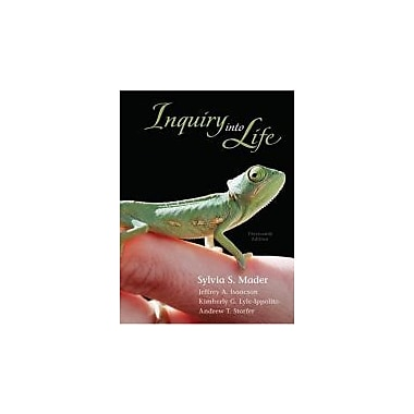 Inquiry into Life with Connect Plus Access Card, New Book (9780077403201)