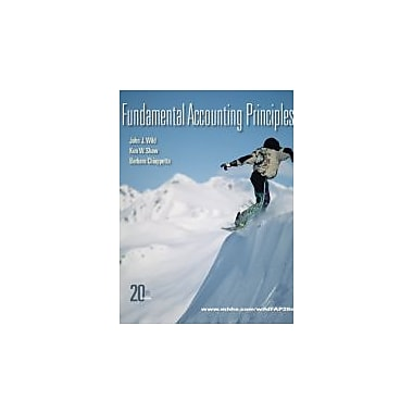 Fundamental Accounting Principles with Connect Plus, New Book (9780077505981)