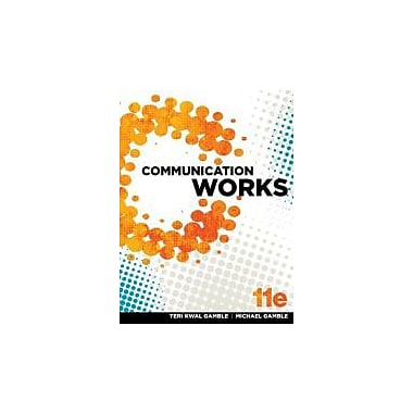 Communication Works w/ Connect Plus Access Card, New Book (9780077669416)