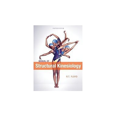 Manual of Structural Kinesiology, New Book (9780078022517)
